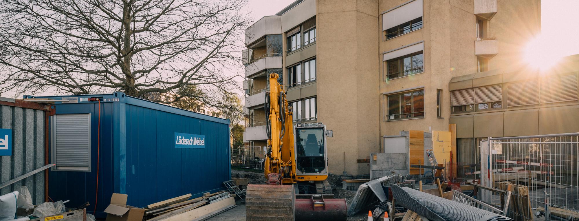 Bauprojekt Martinzentrum